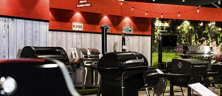 Uusi grillimyymälä Ideaparkin toisessa kerroksessa!