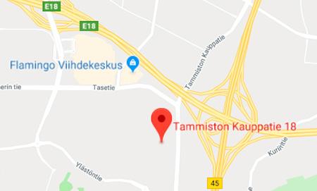 Tammisto Kartta