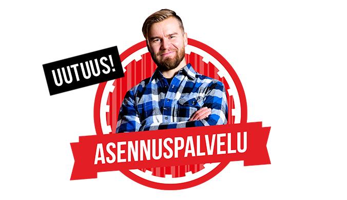 Ilmalämpöpumpun asennus Taloon.comista